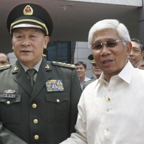 DIALOGUE ENTRE AUTORITÉS CHINOISES ET PHILIPPINES
