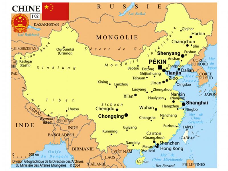 J001 - Chine