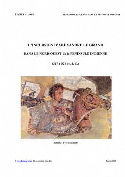 L005 ALEXANDRE LE GRAND dans la PENINSULE INDIENNE