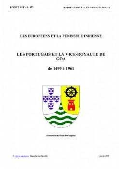 L033 LES PORTUGAIS et LA VICE ROYAUTE DE GOA