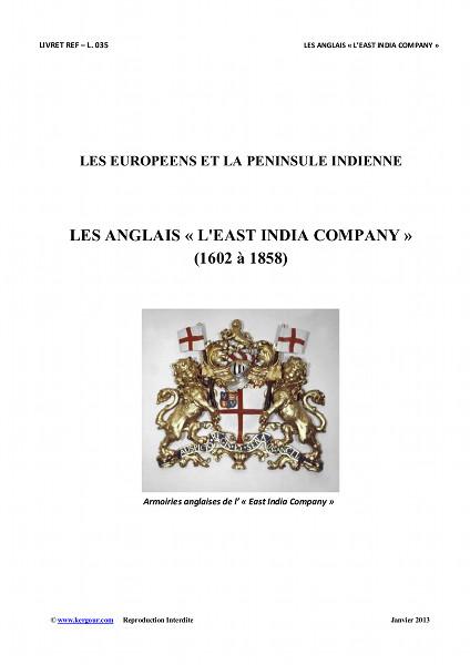 L035 - LES EUROPEENS et LA PENINSULE INDIENNE - LES ANGLAIS et L EAST INDIA COMPANY